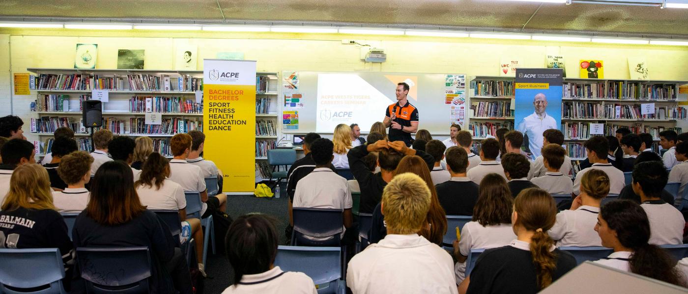 ACPE Wests Tigers School Careers Seminars